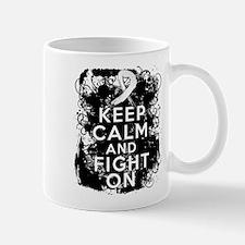 Retinoblatoma Keep Calm and Fight On Mug