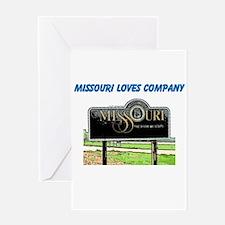 Missouri Greeting Card