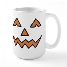 Pumpkin Face Mug