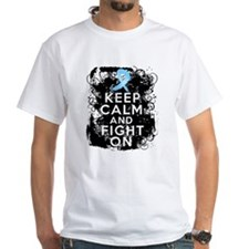 Prostate Cancer Keep Calm and Fight On Shirt
