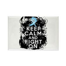 Prostate Cancer Keep Calm and Fight On Rectangle M