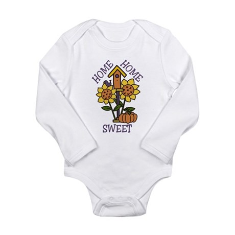 Home Sweet Home Long Sleeve Infant Bodysuit