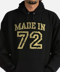 Made in 72 Hoodie (dark)