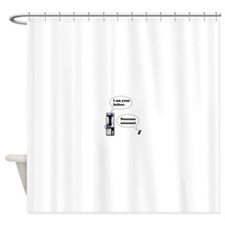 Vader Phone Shower Curtain