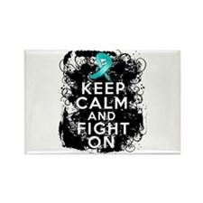 Peritoneal Cancer Keep Calm and Fight On Rectangle