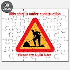 shirt under construction Puzzle