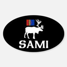 Sami, the People of Eight Seasons Sticker (Oval)