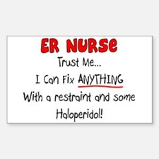 Clinical Nursing Instructor Decal
