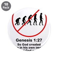 """Genesis 1:27 3.5"""" Button (10 pack)"""