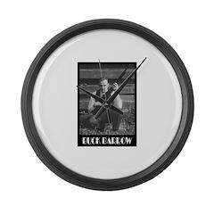 Buck Barrow Large Wall Clock