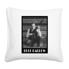 Buck Barrow Square Canvas Pillow