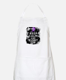 Pancreatic Cancer Keep Calm and Fight On Apron