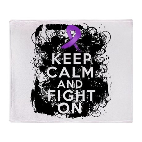 Pancreatic Cancer Keep Calm and Fight On Stadium