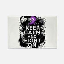 Pancreatic Cancer Keep Calm and Fight On Rectangle
