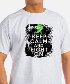 Non-Hodgkins Lymphoma Keep Calm and Fight On T-Shirt