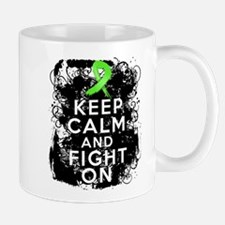 Non-Hodgkins Lymphoma Keep Calm and Fight On Mug