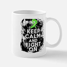 Non-Hodgkins Lymphoma Keep Calm and Fight On Small Small Mug