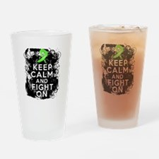 Non-Hodgkins Lymphoma Keep Calm and Fight On Drink