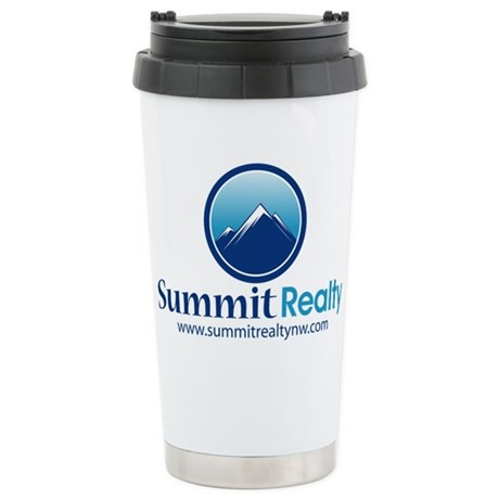 Summit Realty Stainless Steel Travel Mug