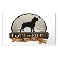 Rottweiler Decal