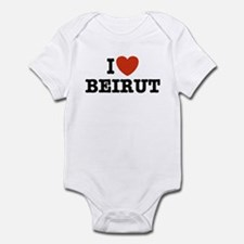 I Love Beirut Infant Creeper