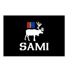 Sami, the People of Eight Seasons Postcards (Packa
