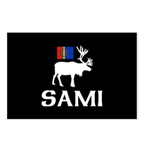 Sami, the People of Eight Seasons Postcards (Packa