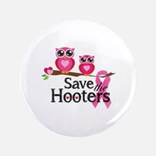 "Save the hooters 3.5"" Button"
