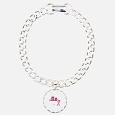 Save the hooters Charm Bracelet, One Charm