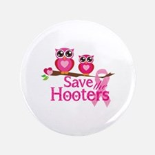 """Save the hooters 3.5"""" Button (100 pack)"""