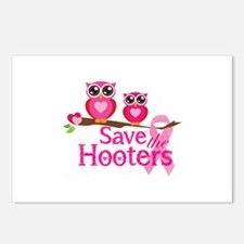 Save the hooters Postcards (Package of 8)