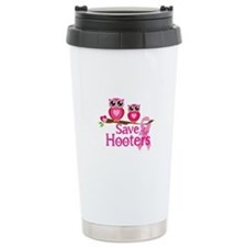 Save the hooters Travel Coffee Mug