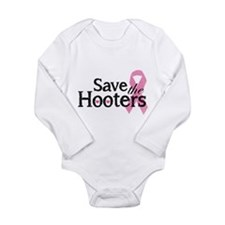 Save the hooters Long Sleeve Infant Bodysuit