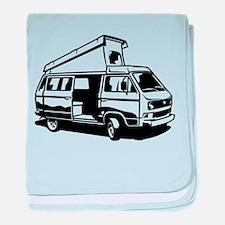 Camper Van 3.2 baby blanket