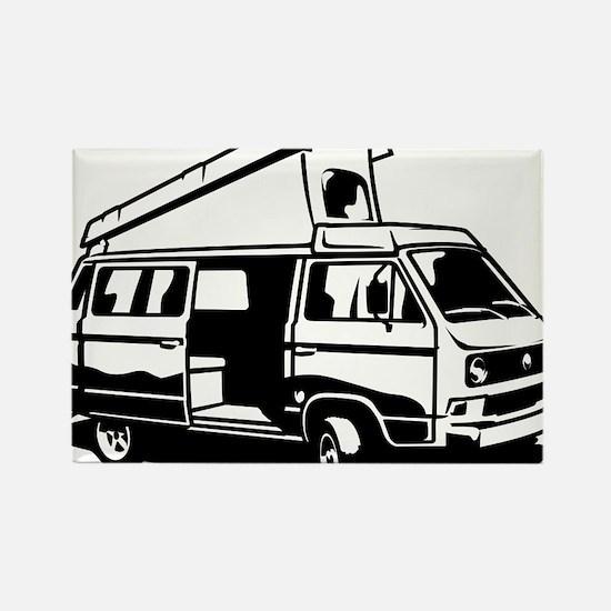 Camper Van 3.2 Rectangle Magnet