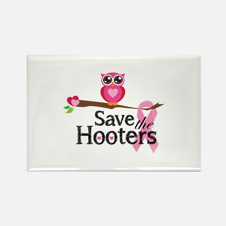 Save the hooters Rectangle Magnet (10 pack)