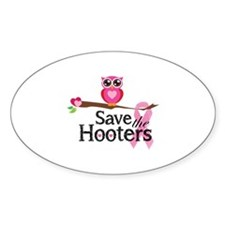 Save the hooters Decal