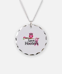 Save the hooters Necklace