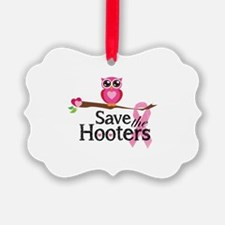 Save the hooters Ornament
