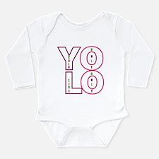 Yolo Long Sleeve Infant Bodysuit