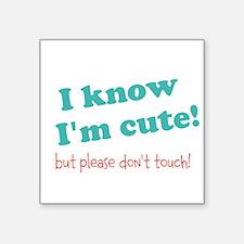 """Cool Gastroschisis Square Sticker 3"""" x 3"""""""