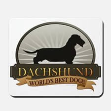 Dachshund [wire-haired] Mousepad