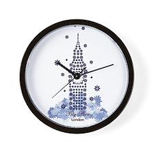 Big Ben Flower Wall Clock