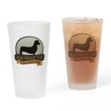Dachshund [smooth] Drinking Glass