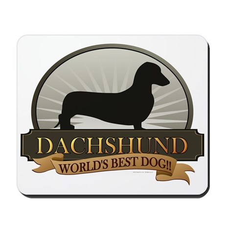 Dachshund [smooth] Mousepad