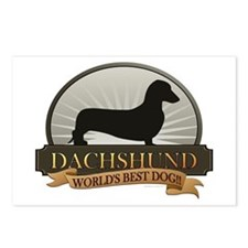 Dachshund [smooth] Postcards (Package of 8)