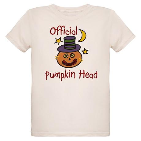 Official Pumpkin Head Organic Kids T-Shirt