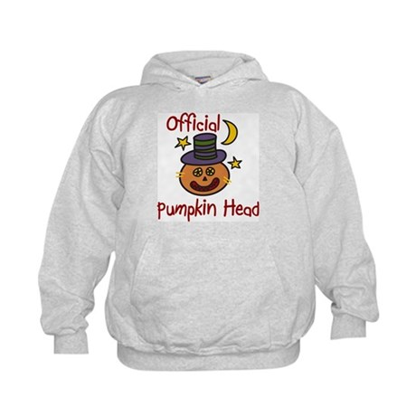 Official Pumpkin Head Kids Hoodie