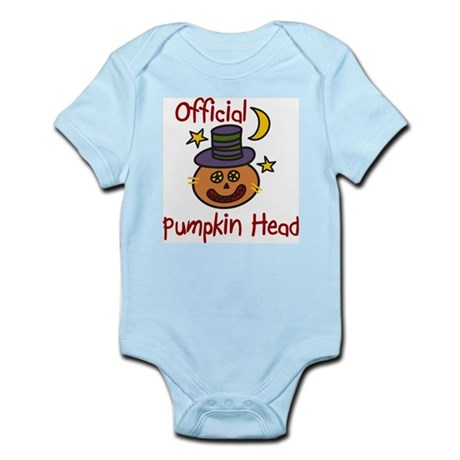 Official Pumpkin Head Infant Bodysuit