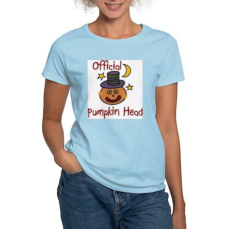 Official Pumpkin Head Women's Light T-Shirt